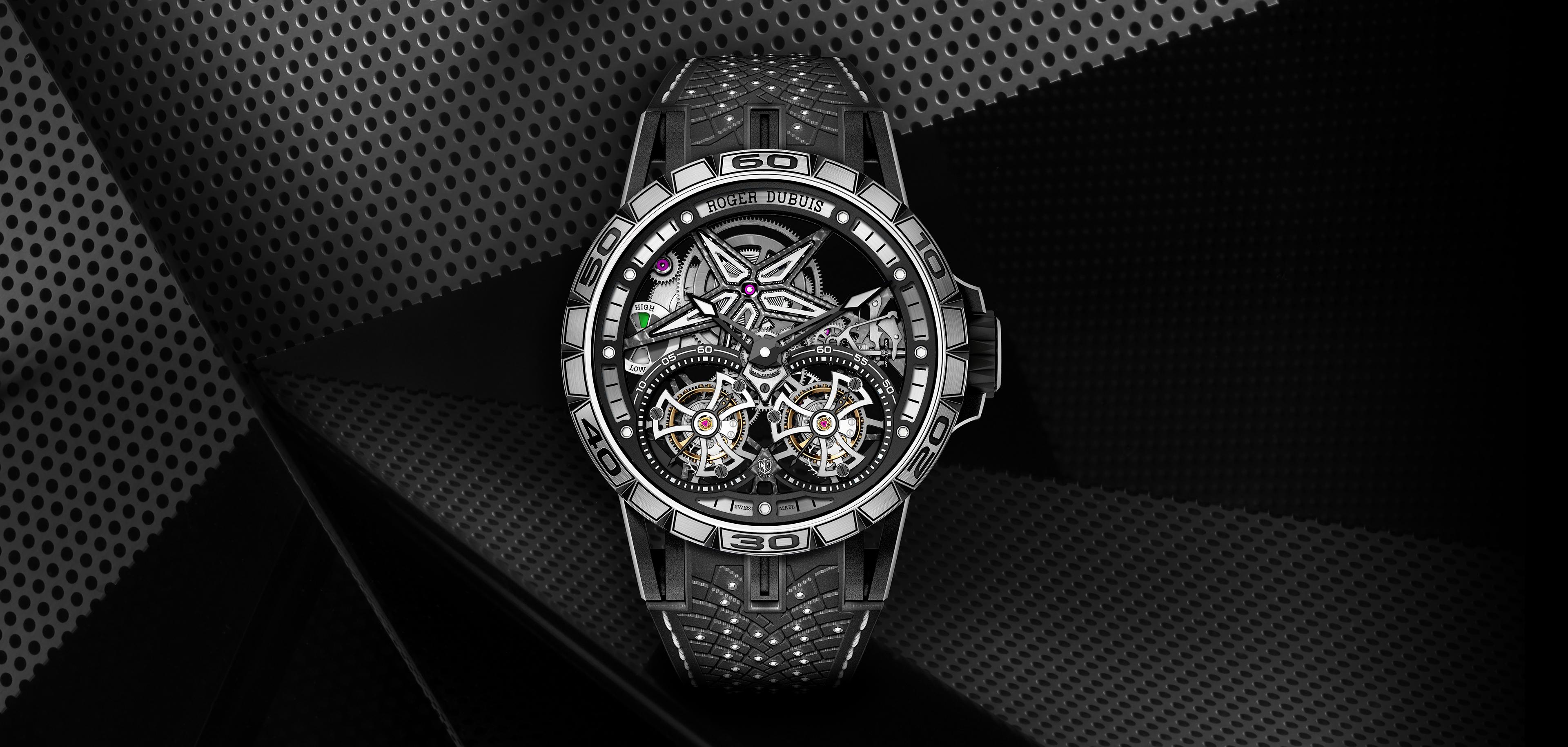 4760f8fd4 ... جيدة ليحقق قبضة مستمرّة وراحة عالية، وتعدّ الساعة تحفةً فنيةً متميزة  للغاية بها توربيون، ومدعومةً من العيار Poinçon de Geneve بشهادة Calibre  RD105SQ.
